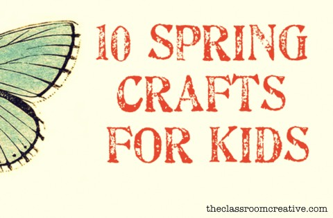 try some of these spring craft projects with your students or children - Spring Pictures For Kids