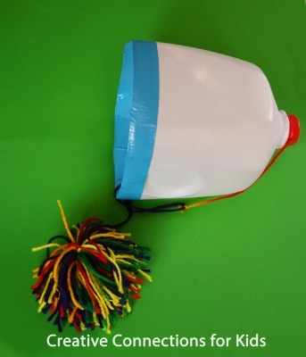 recycled crafts, milk jug crafts