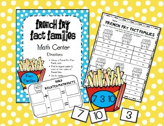 math center ideas,