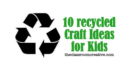 Craft Ideas Magazines on Recycled Craft Ideas For Kids Upcycled Milk Jug Tin Can Magazine 001