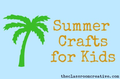 Craft Ideas 2012 on Arts And Crafts Week Continues Today With Summer Craft Ideas For Kids