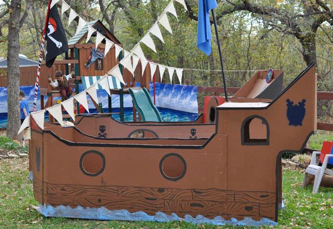 Корабль декорация своими руками
