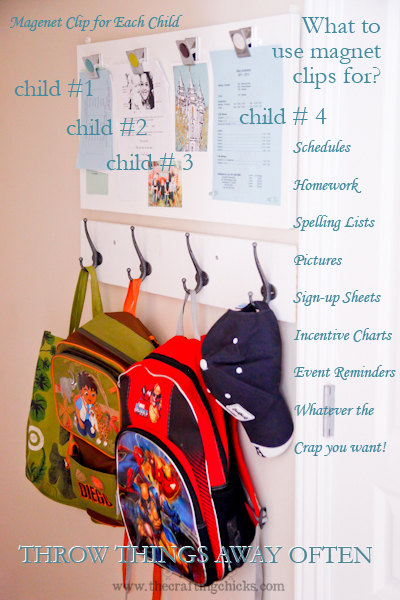 back to school home organization tips ideas for parents