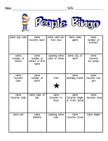 Meet the teacher scavenger hunt from Primary Pals