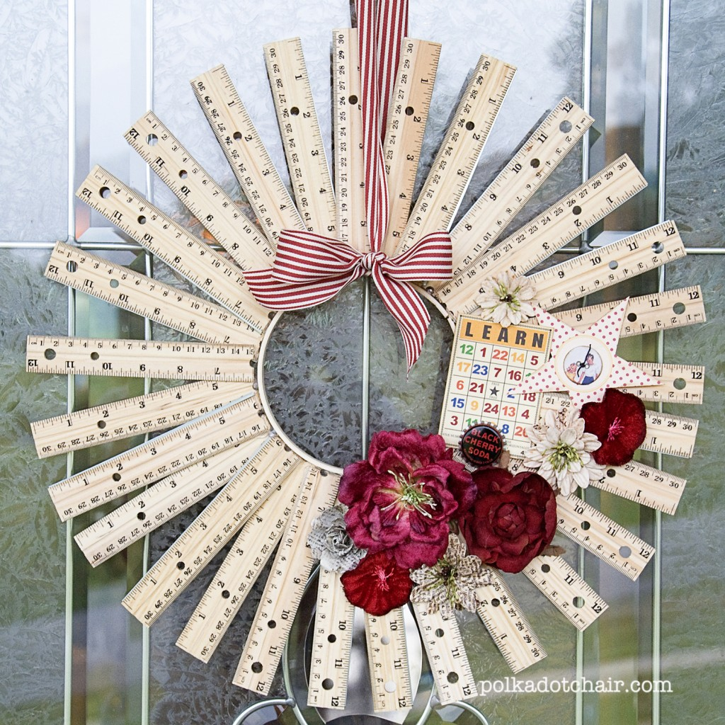 back to school wreaths and door decorations