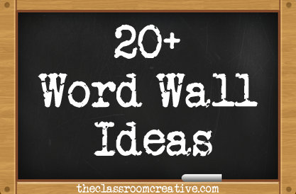 sightdolch word walls - Wall Board Ideas