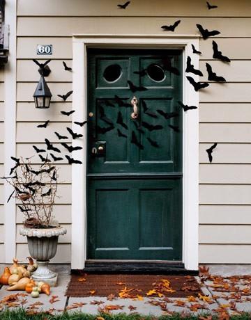 Halloween door decorations - Deco hal halloween ...