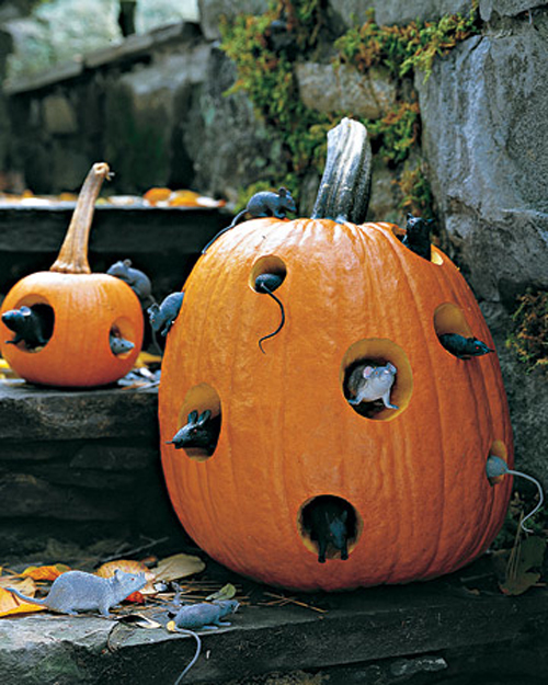 Outdoor halloween decorations - Deco citrouille pour halloween ...