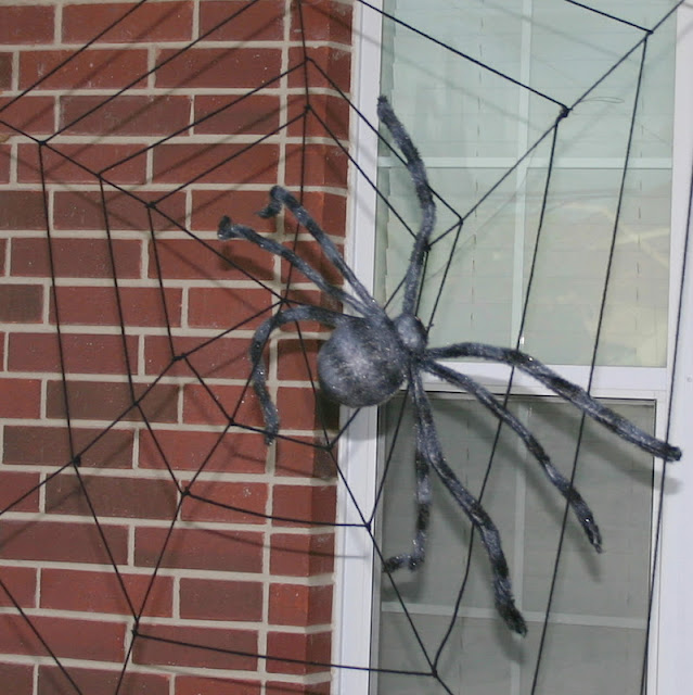 Giant Spider Web Decoration Giant outdoor spider web via