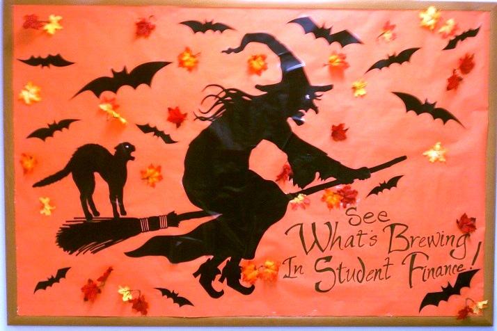 Preschool Thanksgiving Classroom Decorations ~ Halloween bulletin boards