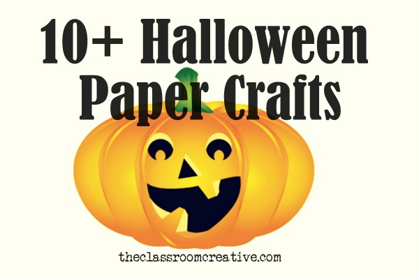halloween paper crafts - Halloween Printable Crafts For Kids 2