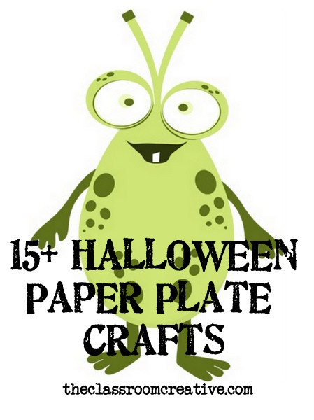 Halloween Paper Plate Craft Ideas