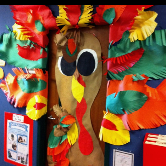 Thanksgiving Classroom Door Decor ~ November thanksgiving bulletin board ideas