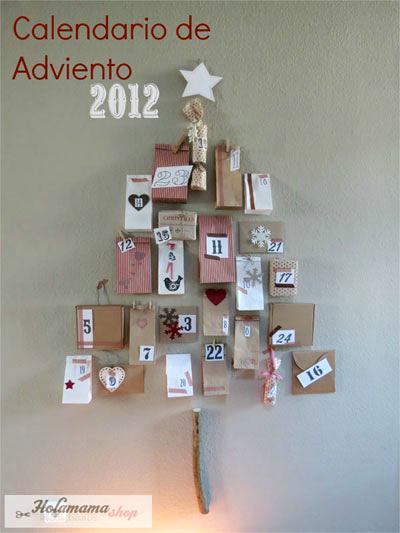 Advent calendar craft ideas for Calendario de adviento casero