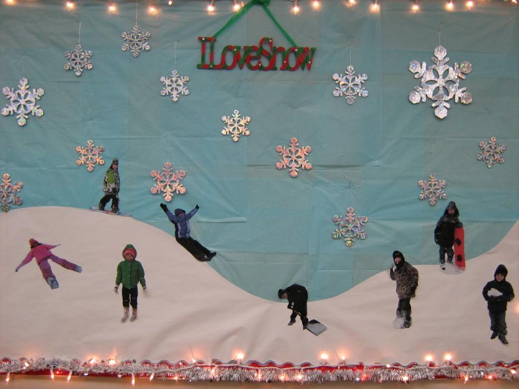 Classroom Bulletin Board Ideas For January ~ Winter bulletin boards