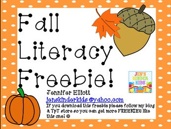 fall literacy activities for preschool preschool and kindergarten fall literacy center ideas 937