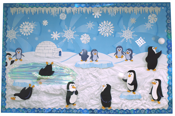 Winter Classroom Idea ~ Winter bulletin boards