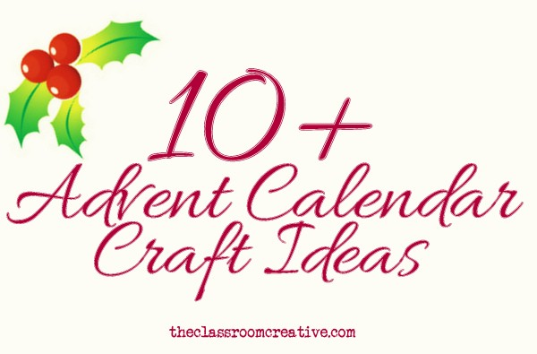 Advent Calendar Craft Ideas