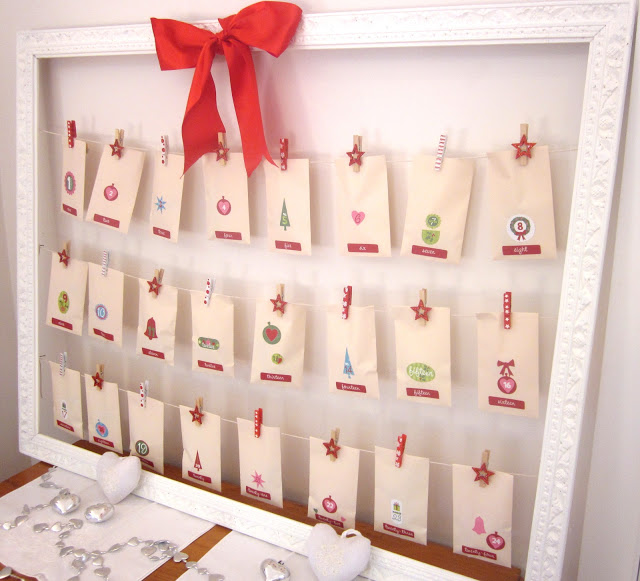 Advent Calendar Ideas To Make : Advent calendar craft ideas