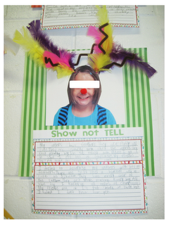 Reindeer craft and writing activity from Buzzing About Second Grade