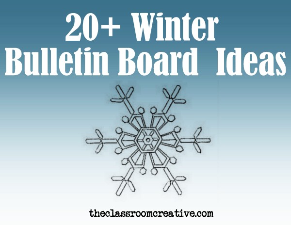 winter bulletin boards and ideas