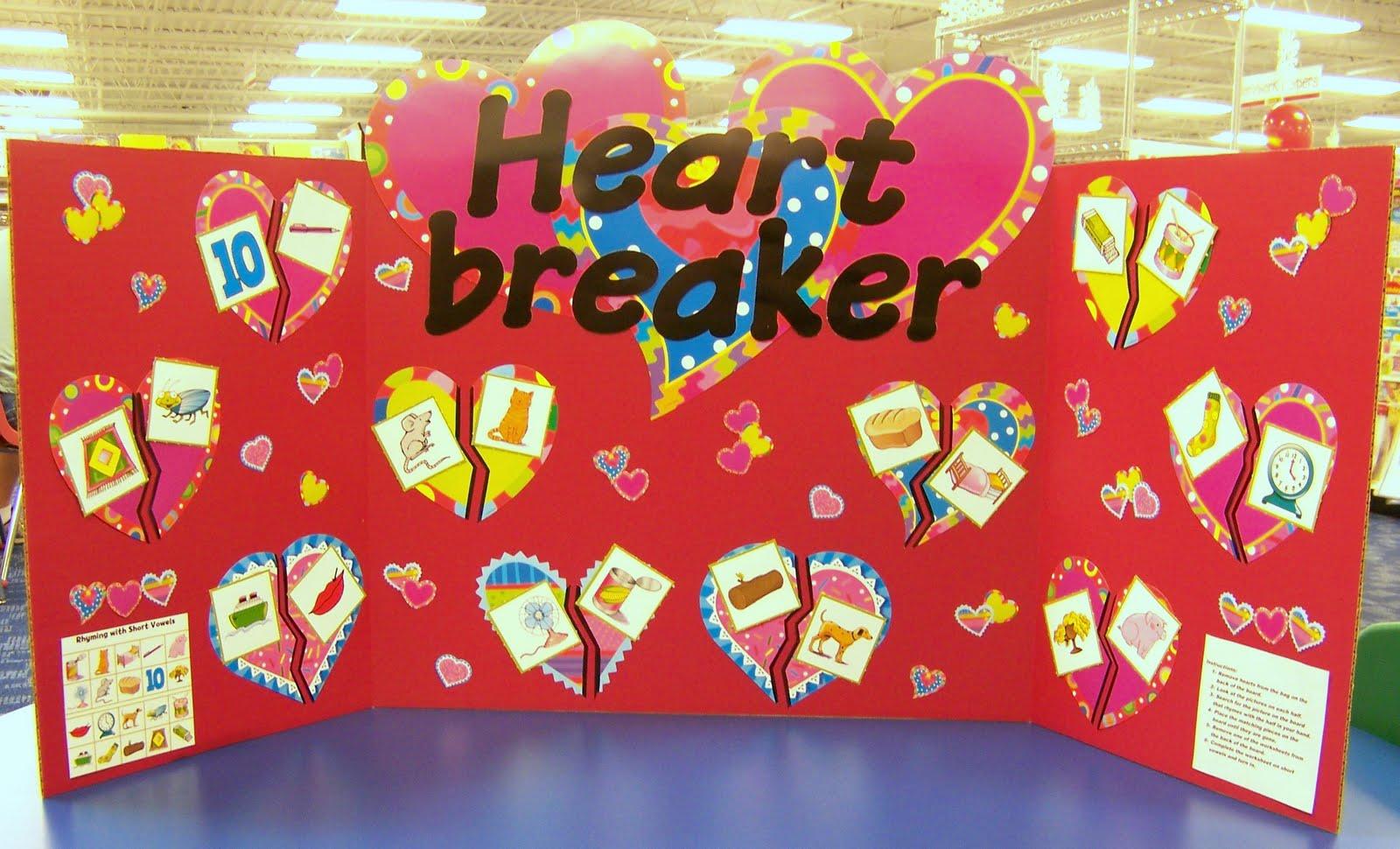 Interactive Heart Breaker Bulletin Board via Better Bulletin Boards