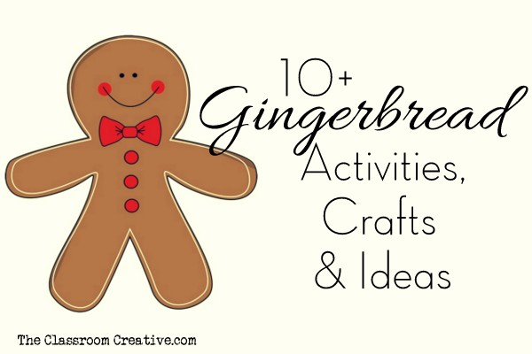 gingerbread activities crafts ideas