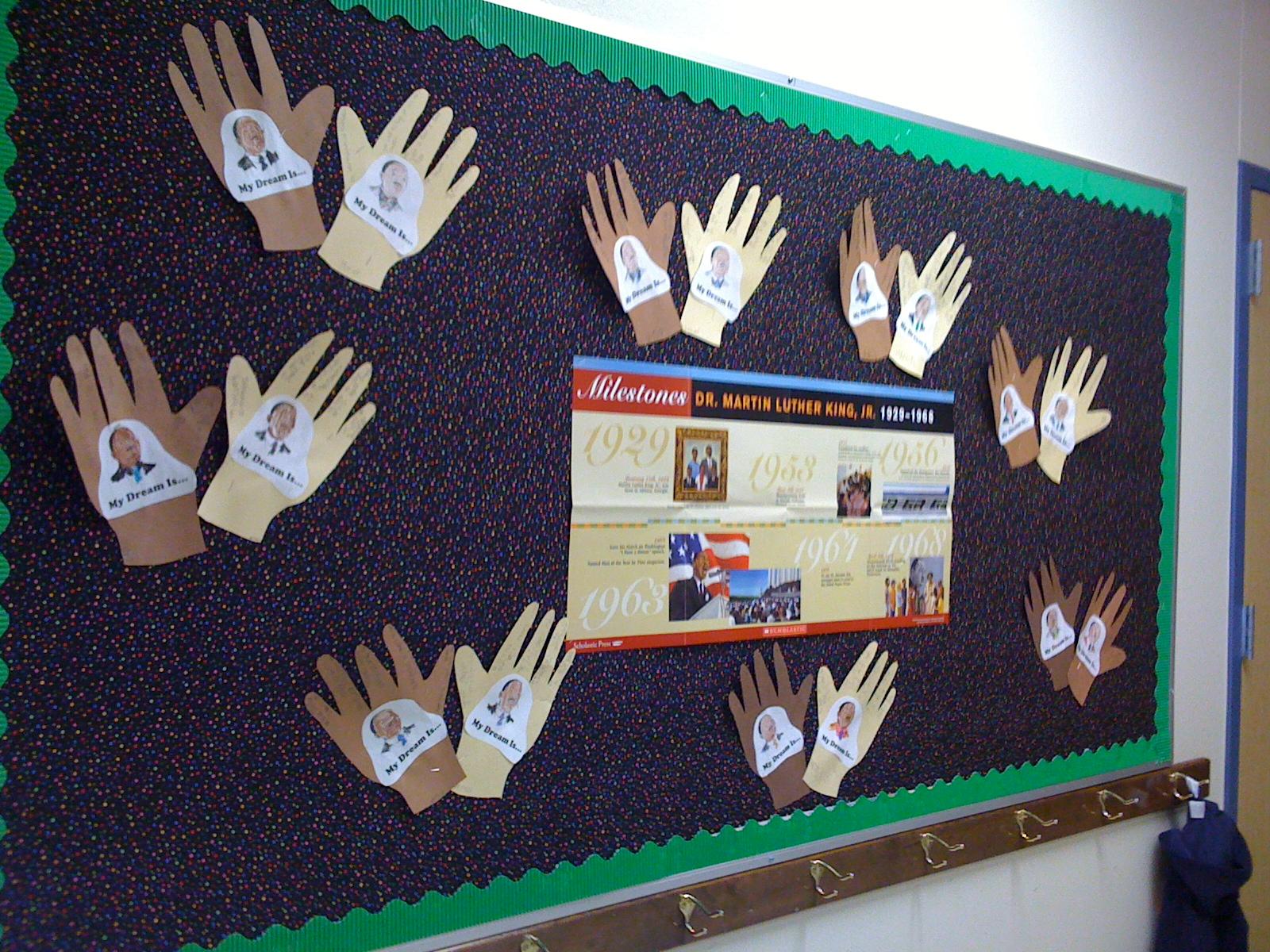 Crayon Diversity Bulletin Board via