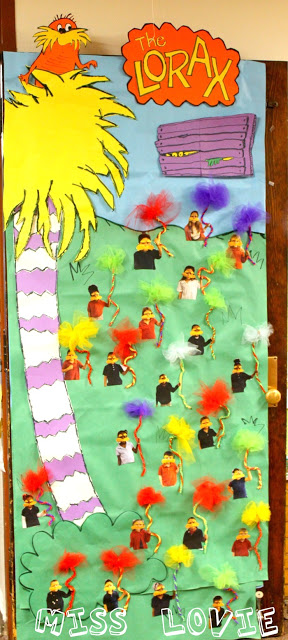 Lorax Classroom Decor ~ Dr seuss bulletin boards