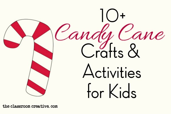 Candy Cane Craft Ideas for Kids
