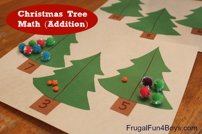 Christmas Math Centers u0026 Activities for First Grade