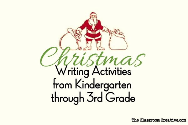 Christmas writing activities for kids for 3rd grade christmas craft ideas