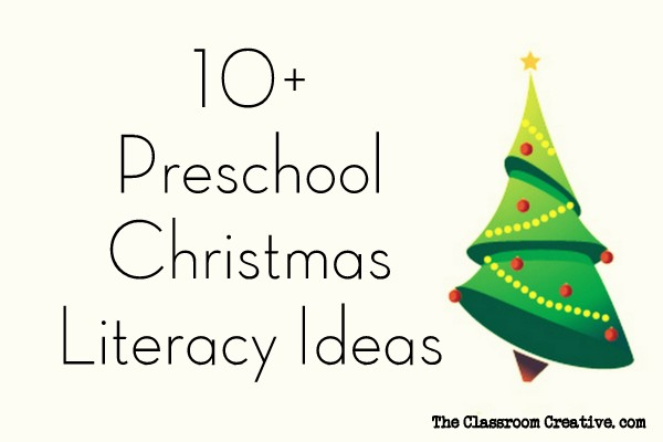 Preschool Xmas Calendar Ideas : Preschool christmas literacy activities centers