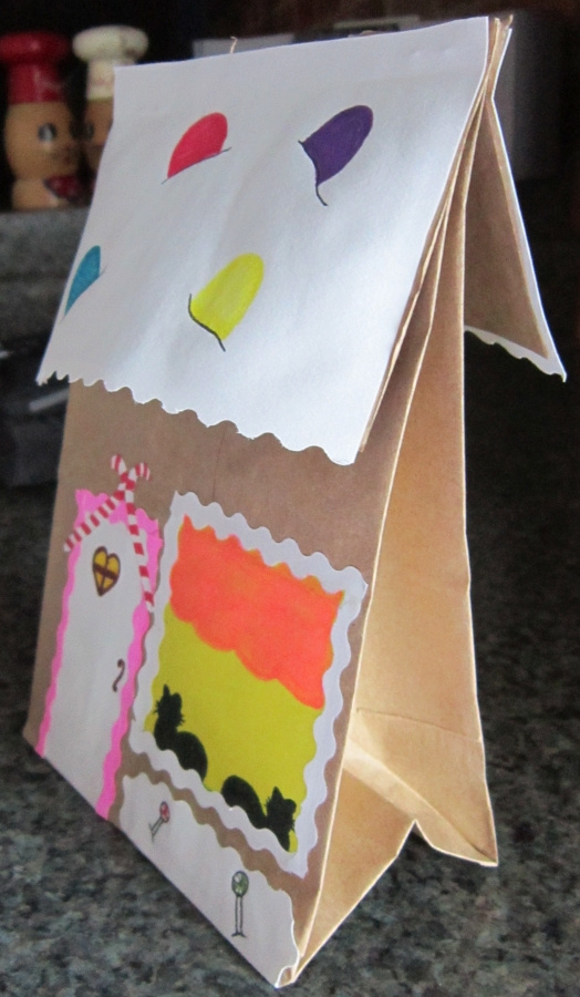 Gingerbread activities crafts ideas for Brown paper bag crafts for toddlers