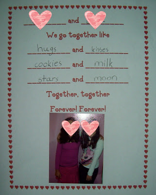 Valentine\'s Day Literacy Activities for First Grade