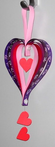 Paper Valentine Door Decoration From My Kitchen Therapy. Love ...