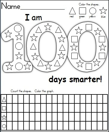 math worksheet : 100th day of school freebies : 100th Day Of School Math Worksheets