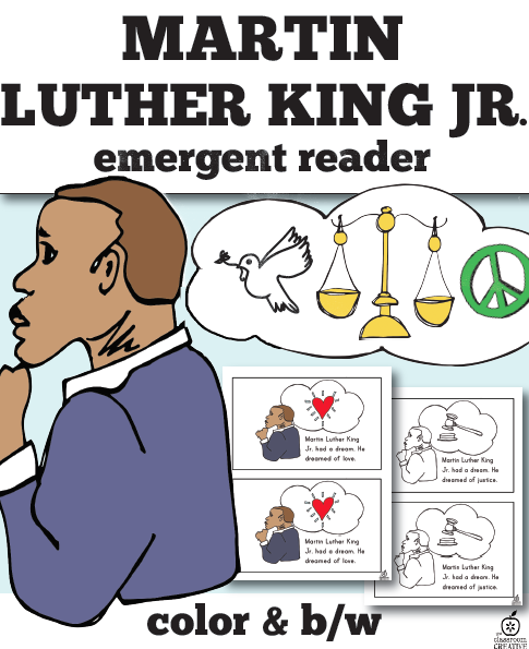 Martin Luther King Emergent reader