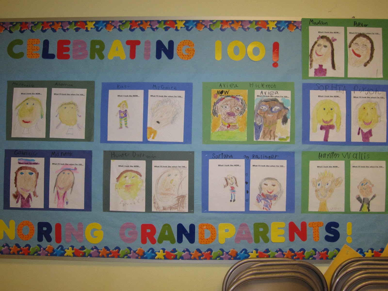 100th Day Bulletin Board And Decoration Ideas on Halloween Safety Rules