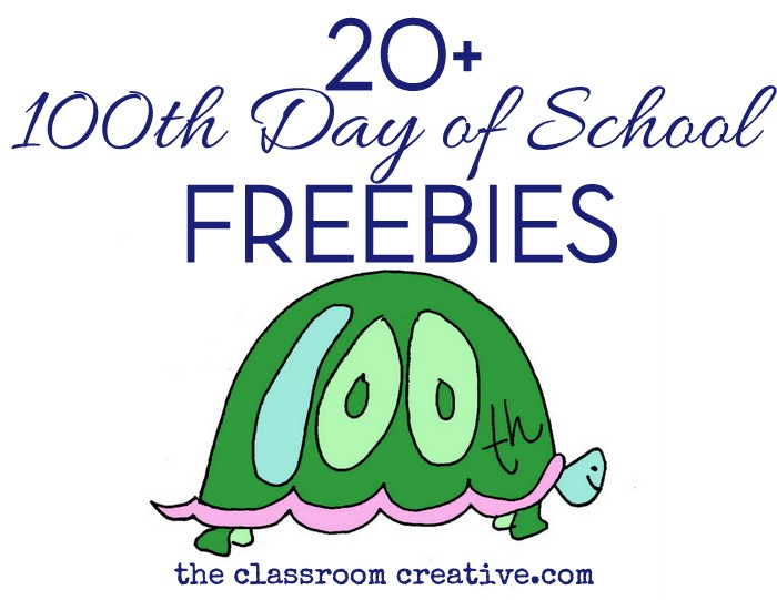 100th Day of School Freebies – 100th Day Math Worksheets