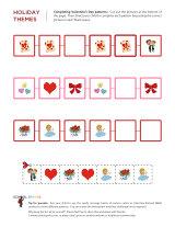 Valentine pattern activity from School Sparks