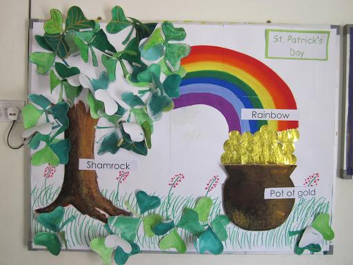 St Patricks Day Bulletin Boards