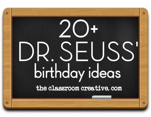 Dr. Seuss birthday ideas for the classroom. Seuss Bulletin Board Ideas