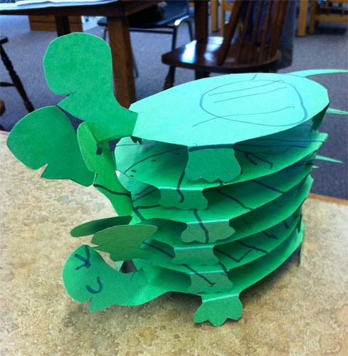 Yertle The Turtle Paper Plate Craft