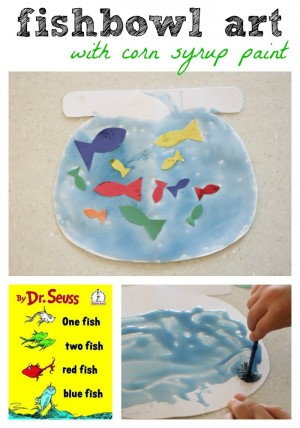 One Fish Two Red Blue Crafts And Activities