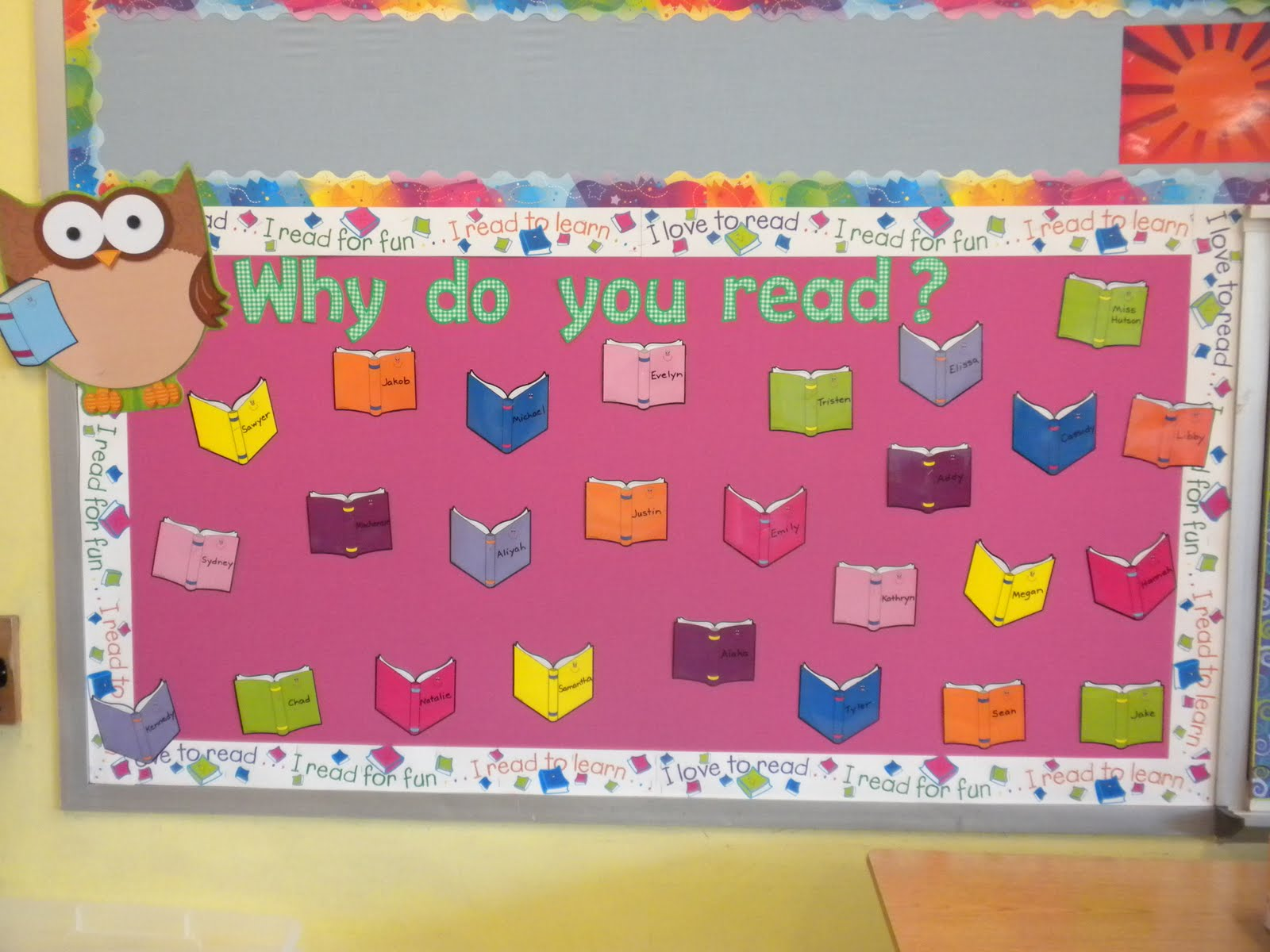 Classroom Ideas Bulletin Boards ~ Reading bulletin board ideas for winter
