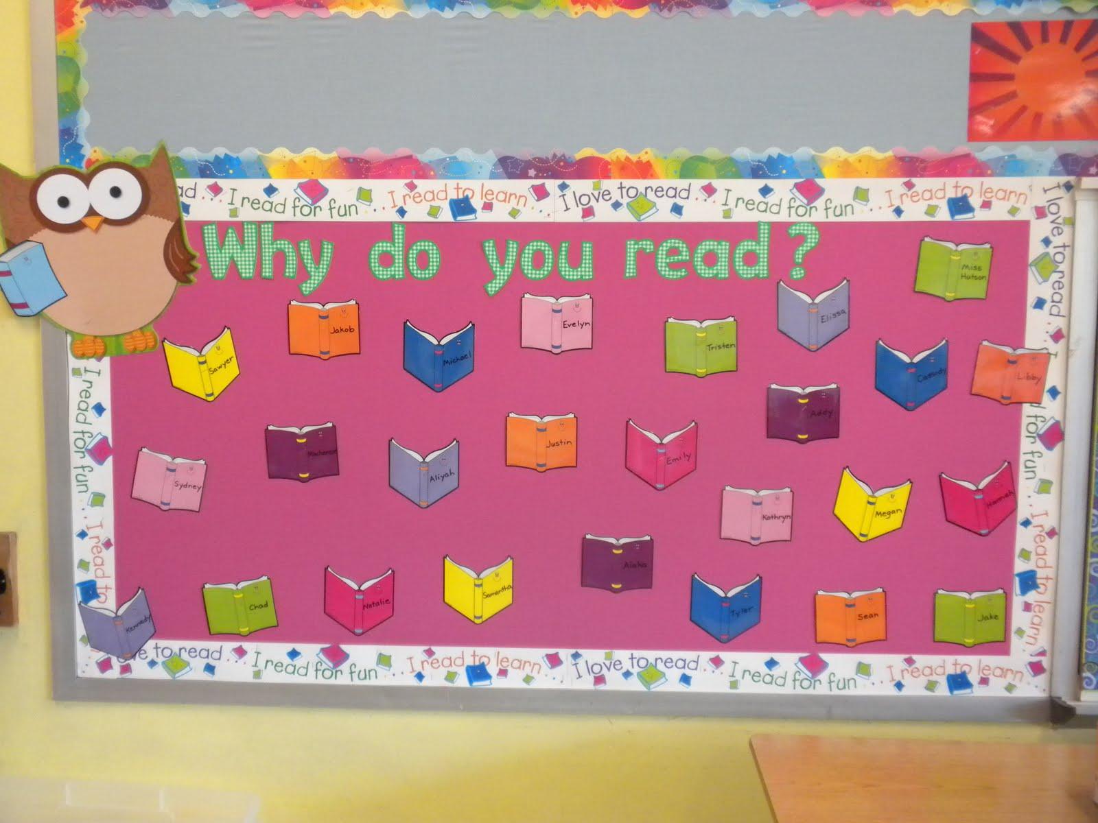 Bulletin Board Ideas In Classroom ~ Reading bulletin board ideas for winter