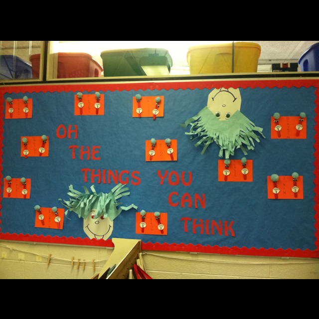 Favorite books on a dr seuss hat from talladega city schools
