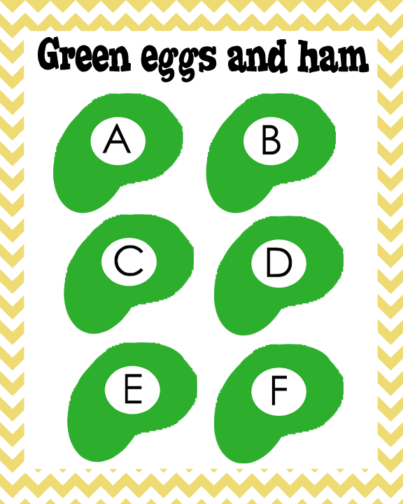 FREEBIE Green Eggs And Ham ABCs From Oopsey Daisy Sam I Am Craft