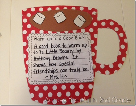 Good Behavior Bulletin Board Ideas http://www.theclassroomcreative.com/2013/02/05/reading-bulletin-board-ideas-for-winter/